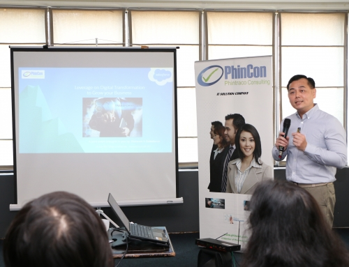 "PhinCon bersama Salesforce Adakan Event Bertajuk ""Leverage on Digital Transformation to Grow Your Business"""